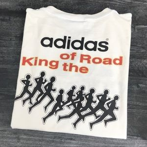 1990s Adidas King Of The Road T-shirt